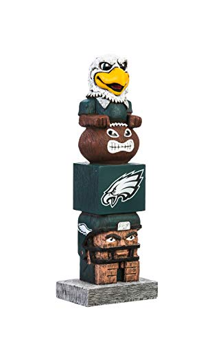 Team Sports America NFL Philadelphia Eagles 16 Inch Tiki Totem