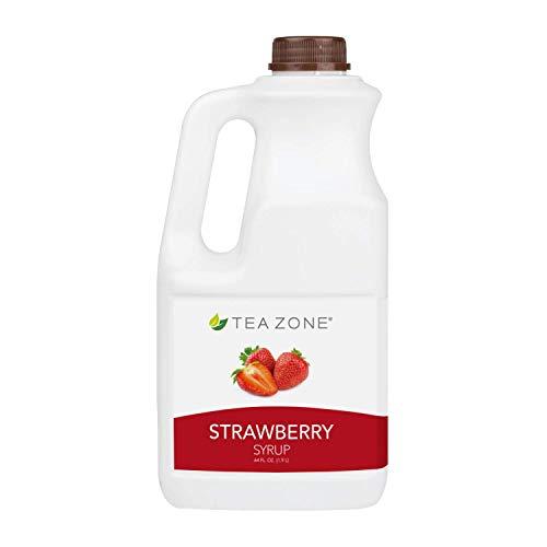 Tea Zone 64 oz Strawberry Syrup