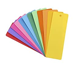Hygloss Products Inc. HYG42610 Bookmarks 2 X 6 Asstd Colors 100