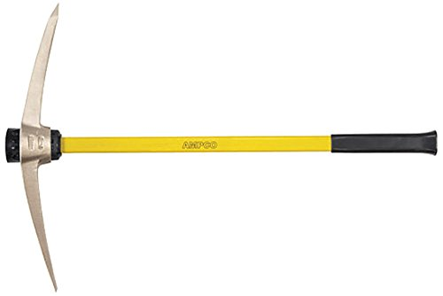 Ampco Safety Tools P-6 Pick, Railroad, Non-Sparking, Non-Magnetic, Corrosion Resistant, 10.3 lb Head