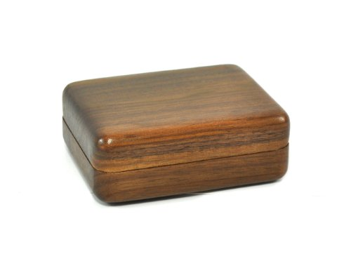(Walnut Grove Solid Wood Walnut Keepsake Treasure Box)