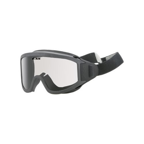 ESS Innerzone 3 Safety Ballistic Structural Fire Goggles Black/Clear 740-0273