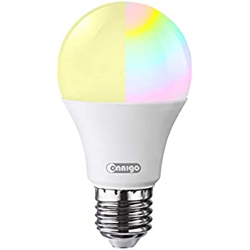 xenon wifi smart led light bulb compatible with alexa echo remote control by smartphone work. Black Bedroom Furniture Sets. Home Design Ideas