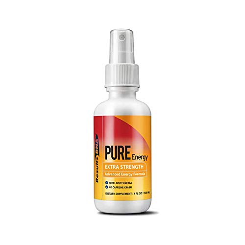 Results RNA Pure Energy Extra Strength Caffeine Free Formula   Long Lasting Energy, With No Side Effects - 2oz Bottle