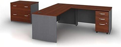 Bush Business Furniture Series C 4-Piece L-Shape Computer Desk