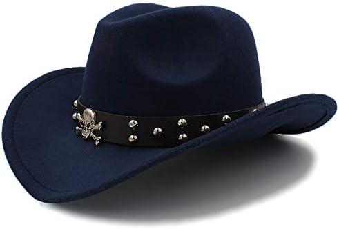 Diasdaisda Sombrero de Vaquero Sombrero, Unisex Occidental ...