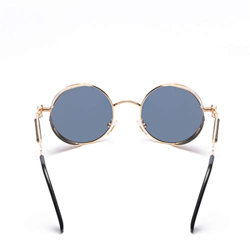 Sol Frame Frame Lens polarizada Color de Mujer de Lente de Sol Hombre superligero de Black de Lens Blue para Gafas Gafas Aluminio Sakuldes Silver Gray qFwEUnB
