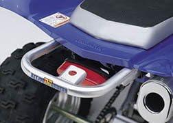Alloy Grab Bar for Yamaha Raptor 660R Ball Burnished DG Performance 59-4216 2001-2005