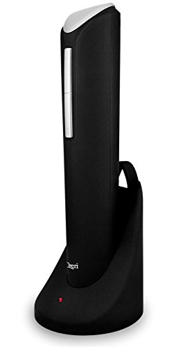 Ozeri Pro Electric Wine Opener with Wine Pourer, Stopper and Foil Cutter, in Black by Ozeri (Image #2)