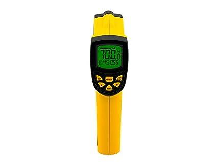 Termómetro infrarrojo IR pirometro termómetro digital sin contacto laser temperatura pistola medidor herramientas de medición -
