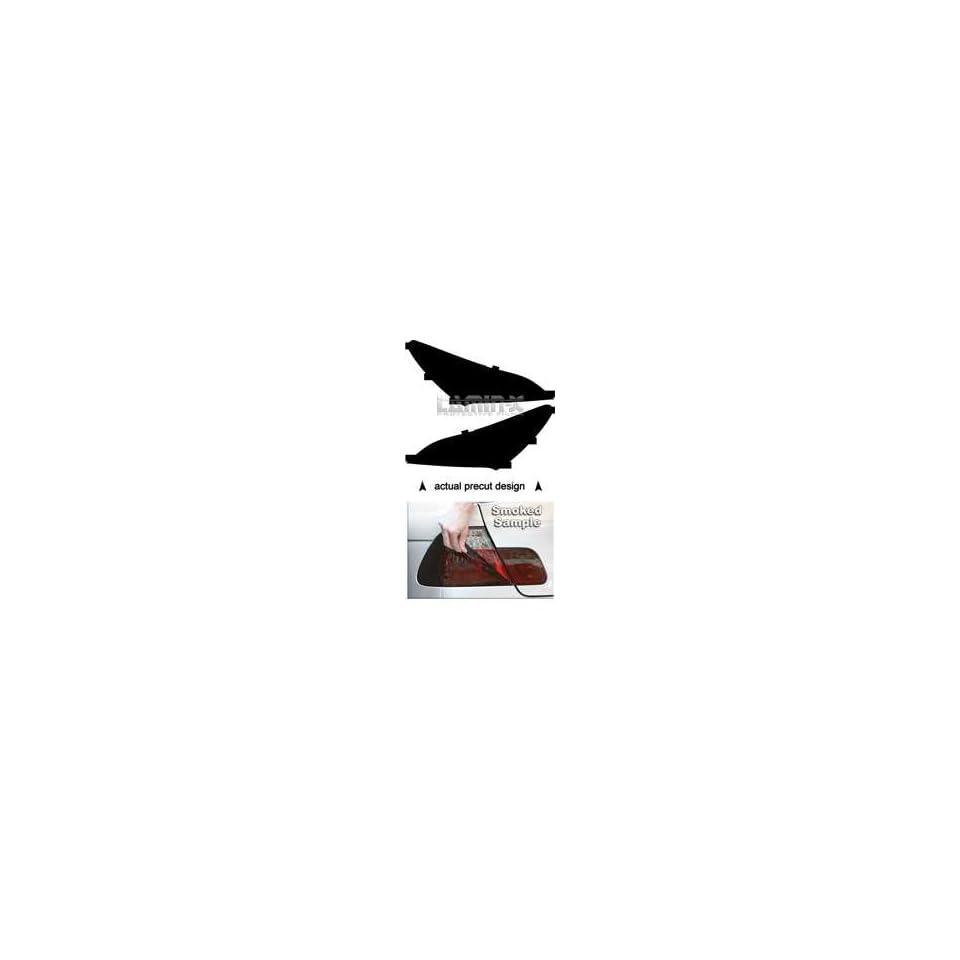 Hyundai Genesis Coupe (09  ) Tail Light Vinyl Film Covers ( SMOKED ) by Lamin x