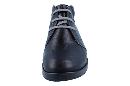 Botas De Piel Lisa Mujer Comfort Para Finn Negro qOwAxP5W