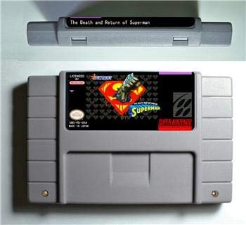 of Superman - Action Game Cartridge US Version - Sega Genesis Collection ,classics ,Games For NES for Genesis ()