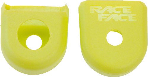 RaceFace NEXT/SIXC Carbon Crank Boots Yellow Sold in Pairs