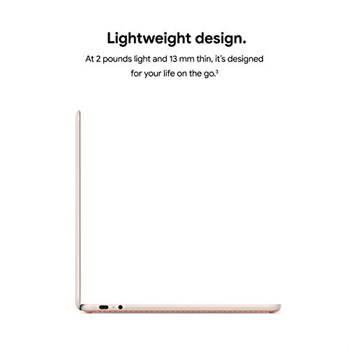 Google Pixelbook Go - Lightweight Chromebook Laptop - Up to 12 Hours Battery Life[1] Touch Screen Chromebook - Not Pink