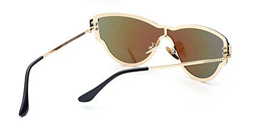 polarisées de Lennon Glacier style cercle vintage en retro soleil rond Bleu métallique lunettes du inspirées FEqd8dZw