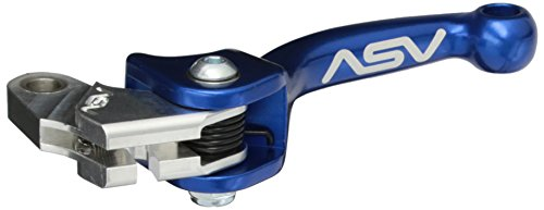 ASV Inventions CMF39-SB F3 Blue Stock Perch Shorty Clutch Lever for Yamaha