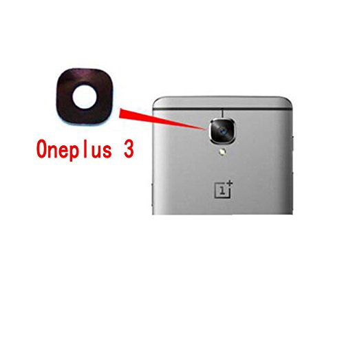 best service 5131f 2006a New Rear Back Camera Glass Lens Cover For OnePlus Three OnePlus 3 A3000  A3003