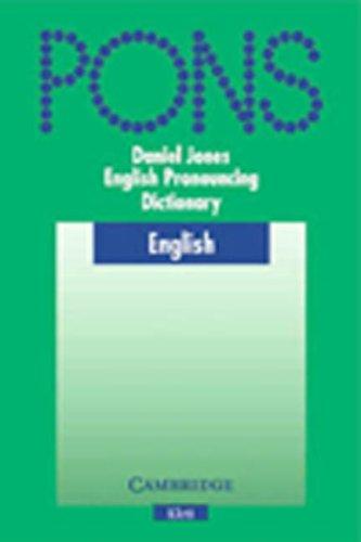 Cambridge English Pronouncing Dictionary, w. CD-ROM