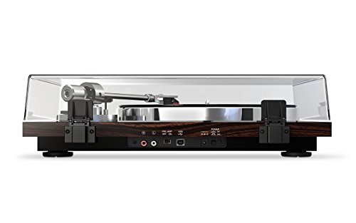 Akai Professional BT500 | Premium Belt-Drive Turntable with Wireless Streaming, DC Motor & Leveling Feet (Walnut Finish)