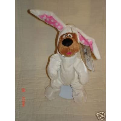 Scooby Doo Easter Bunny Suit Plush Bean Bag 1999 Warner Brothers: Toys & Games
