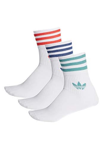 adidas Originals Socken Dreierpack MID CUT CREW FM0639 Weiss