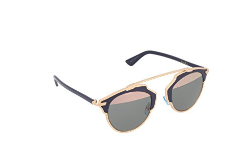 (Dior Women CD SOREAL/S 48 Gold/Gold Sunglasses 48mm)