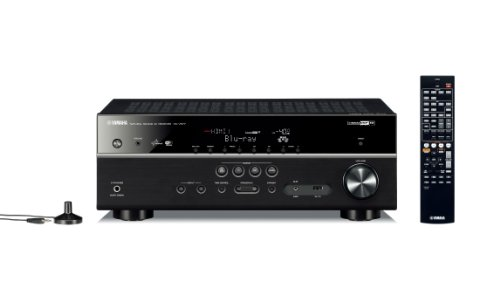Yamaha RX-V577 7.2 Channel Networking Home Theater Receiver Plus A Pair of Klipsch Reference RB-41 II Bookshelf Speakers