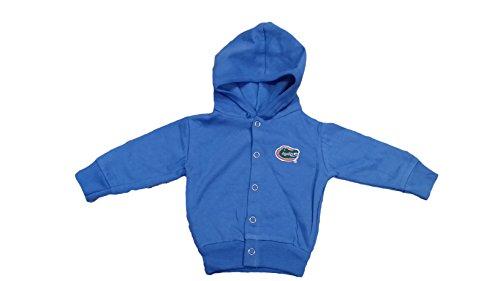 Toddler Jackets Shop - Florida Gators NCAA Toddler Hooded Sweatshirt Snap Jacket (4 Toddler)