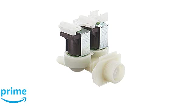 SpareHome® Electroválvula para lavadoras Bosch, Siemens, Balay ...