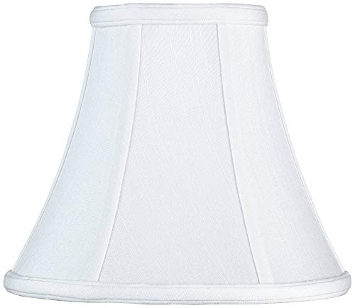 (Imperial Collection White Bell Lamp Shade 4.5x9x8 (Spider) - Imperial Shade)