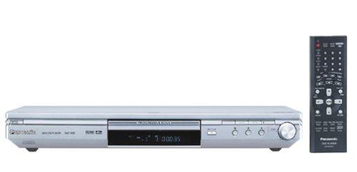 Panasonic DVD-S35S Ultra-Slim Progressive-Scan DVD , Silver (Panasonic Receiver)