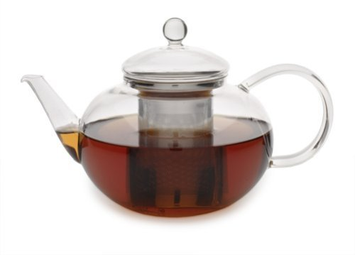 Adagio Teas 42 oz. Glass Teapot & Infuser by Adagio Teas (Teas Teapot Adagio Glass)
