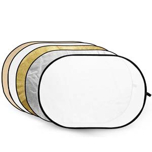 Buy Godox Collapsible 5-in-1 Reflector Disc RFT-06 Gold, Silver, White, Translucent, 60 x 90 c online at low price in India on Amazon.in.
