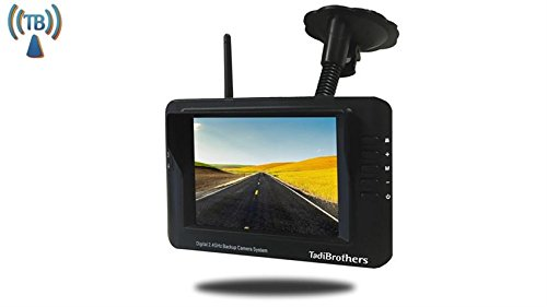 TadiBrothers Digital Wireless RV Backup Camera with 3.5 Inch Monitor