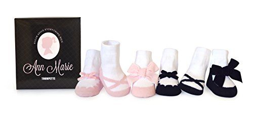Trumpette Baby Girls Sock Set-6 Pairs