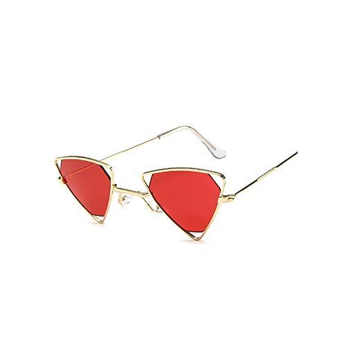 1adee6c544 Sexy Triangle Sunglasses Women Design Vintage Steampunk Metal Men Mirror  Sun Glasses