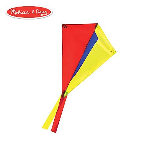 Melissa & Doug Multi-Color Wind Runner Cutter Kite (22-Inch Wingspan)