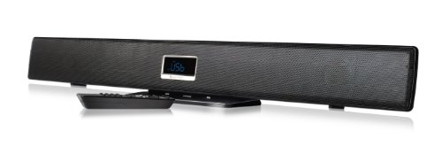 Ematic ESB210 Ultra-Slim 2.1 Channel Wireless Soundbar with