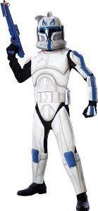Clonetrooper Costumes (Clonetrooper Rex Deluxe Child Costume Size Medium)