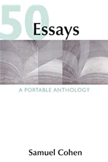 essays a portable anthology samuel cohen  50 essays a portable anthology