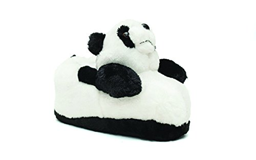 - 9038-4 - Panda - X Large - Happy Feet Animal Slippers