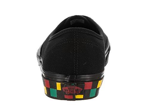 Vans Unisex Giltig (checker Tejp) Black Tote Skate Skor 11.5