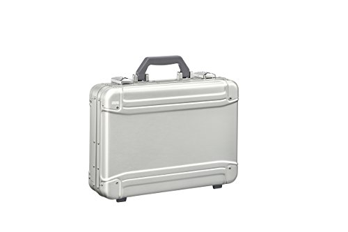 Zero Halliburton Geo Aluminum 3.0 Small Attaché Briefcase, Silver, One Size ()