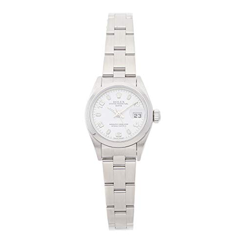 - Rolex Datejust Mechanical (Automatic) White Dial Womens Watch 79160 (Certified Pre-Owned)