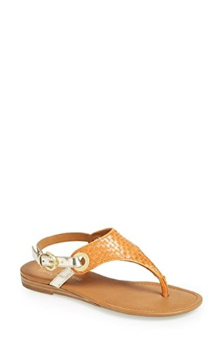 Franco Sarto Mujeres Grip 2 Slingback Sandals Pumpkin