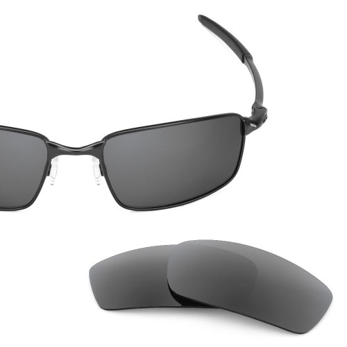 Revant Replacement Lenses for Oakley Square Wire New (2006) Polarized Slate Grey by Revant