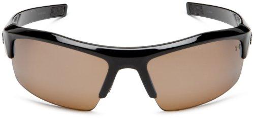 Shiny Armour polarisées de Under Lunettes Brown Frame Black Lens soleil ALLUMEUR rectangulaire wfx4qxnZTU