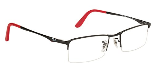 3157a071ce63 Ray-Ban Rectangular Eye Frame (0RX6304 2509 52)  Amazon.in  Clothing    Accessories