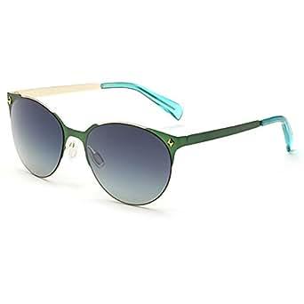 Mi. Mono color lentes Gafas de sol al aire libre moda ...
